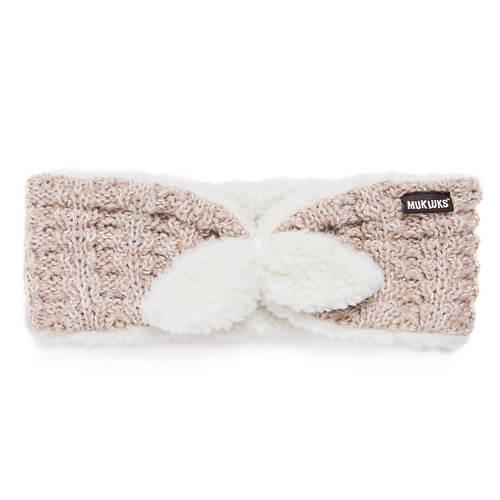 MUK LUKS Women's Counting Sheep Reversible Headband