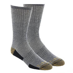 Timberland Men's Merino Full Cush Crew 2-Pack Socks