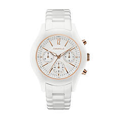 Caravelle By Bulova Ceramic Chronograph Watch