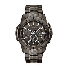Caravelle By Bulova Gunmetal Chronograph Watch
