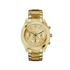 Caravelle By Bulova Gold-Tone Chronograph Watch