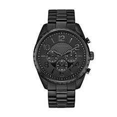 Caravelle By Bulova Black Ion Chronograph Watch