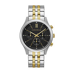 Caravelle By Bulova Two-Tone Chronograph Watch