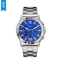 Caravelle By Bulova Chrono Stainless Steel Watch