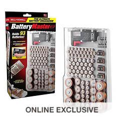 Bell+Howell Battery Master Organizer