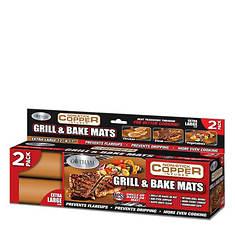 Gotham Steel Grill/Baking Mat 2-Pack