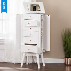 Wesley Jewelry Armoire