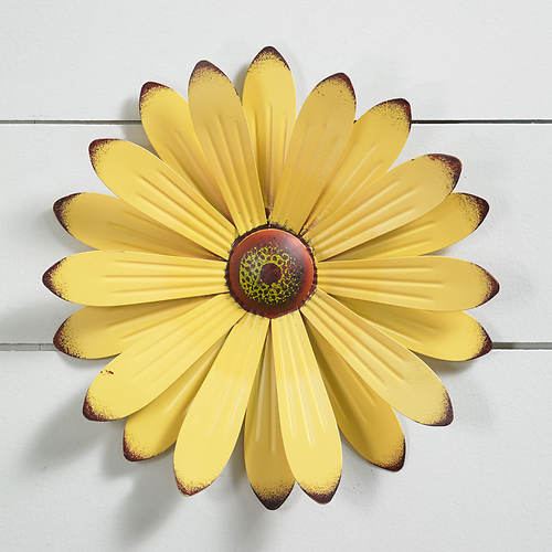 Metal Wall Flower