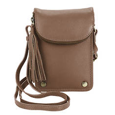 Hadaki Mobile Leather Crossbody