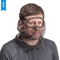 Quiet Wear Men's 3/4 Mesh Face Mask
