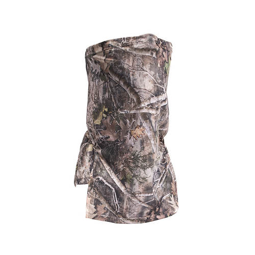 Quiet Wear Men's 1/2 Gaiter Face Mask