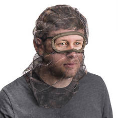 Quiet Wear Men's Full-Cover Form-Fit Mesh Face Mask
