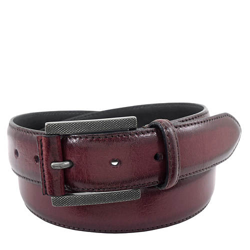 Stacy Adams Men's Matthews 34MM Burnished Leather Belt
