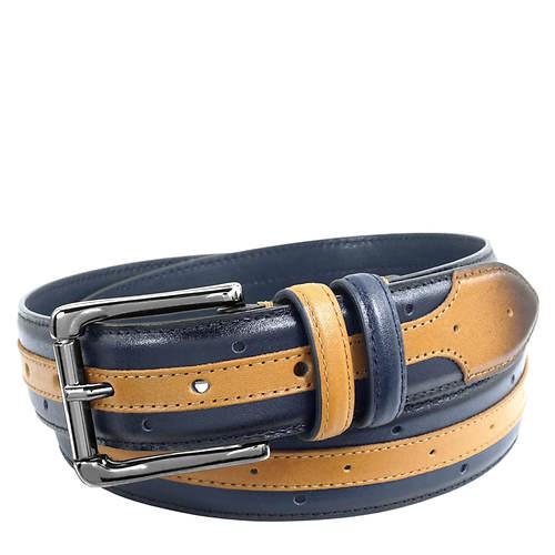 Stacy Adams Men's Drexler 33MM Multi-Color Belt