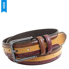 Stacy Adams Men's Drexler 33MM Multi-Color Belt