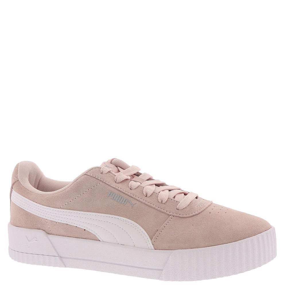 Retro Sneakers, Vintage Tennis Shoes PUMA Carina Womens Pink Sneaker 9.5 M $64.95 AT vintagedancer.com