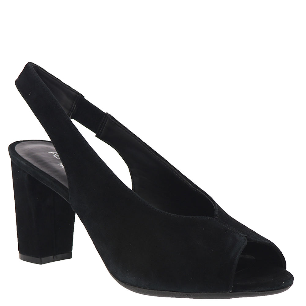 1950s Style Clothing & Fashion Aerosoles Birdbath Womens Black Pump 9.5 M $98.95 AT vintagedancer.com