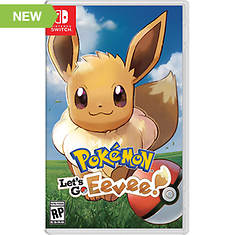 Nintendo SWITCH Pokemon: Let's Go Eevee