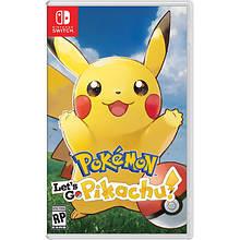 Nintendo SWITCH Pokemon: Let's Go Pikachu