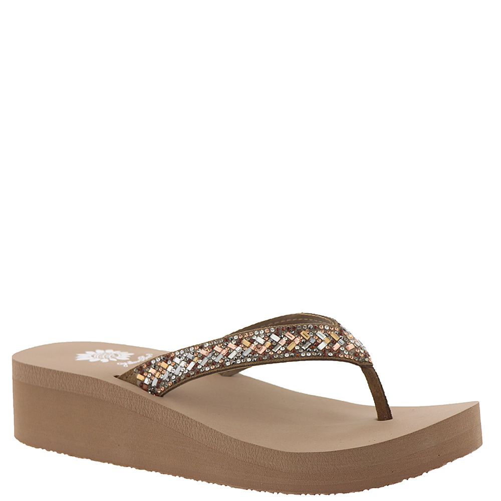 974ed2aeccf Details about Yellow Box Stacie Women's Sandal