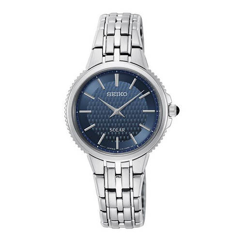 Seiko Solar Blue Dial Watch