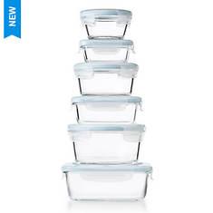 OXO SoftWorks 14-Piece Glass Storage Set