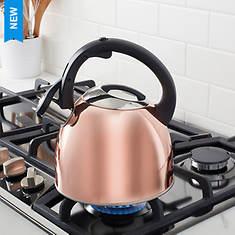 2.5-qt. Copper-Plated Tea Kettle