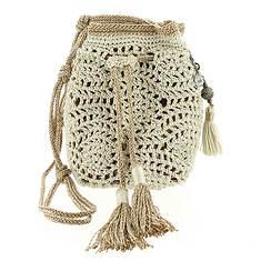 The Sak Sayulita Crochet Mini Drawstring Bag