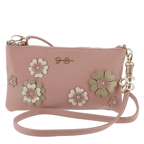 Jessica Simpson Rosalie Flower Clutch Crossbody Bag