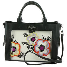 Jessica Simpson Candie Satchel With Crossbody Pouch