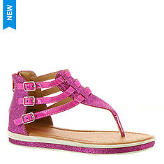 KensieGirl Glitter Thong Sandal KG81407M (Girls' Toddler-Youth)