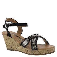 KensieGirl Denim Wedge Sandal KG79680M (Girls' Toddler-Youth)