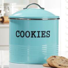 Tin Cookie Jar
