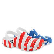 Crocs™ Classic American Flag Clog (Unisex)