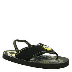 DC Comics Batman Lighted Flip Flop BMS167 (Boys' Toddler)