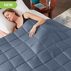 True Comfort Weighted Twin 15-Lb. Blanket