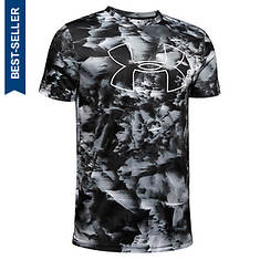 Under Armour Boys' Printed Big Logo Tee