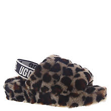 UGG® Fluff Yeah Slide Leopard (Women's)