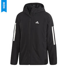 adidas Men's BTS 3-Stripe Hooded Insulated Jacket