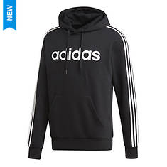 adidas Men's Ess 3-Stripe Fleece Hoody