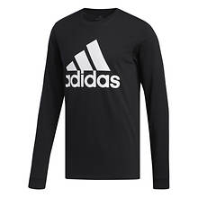 adidas Men's Basic Badge of Sport Long-Sleeved Tee