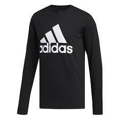 adidas Men's Basic Badge of Sport Long-Sleeved Tee
