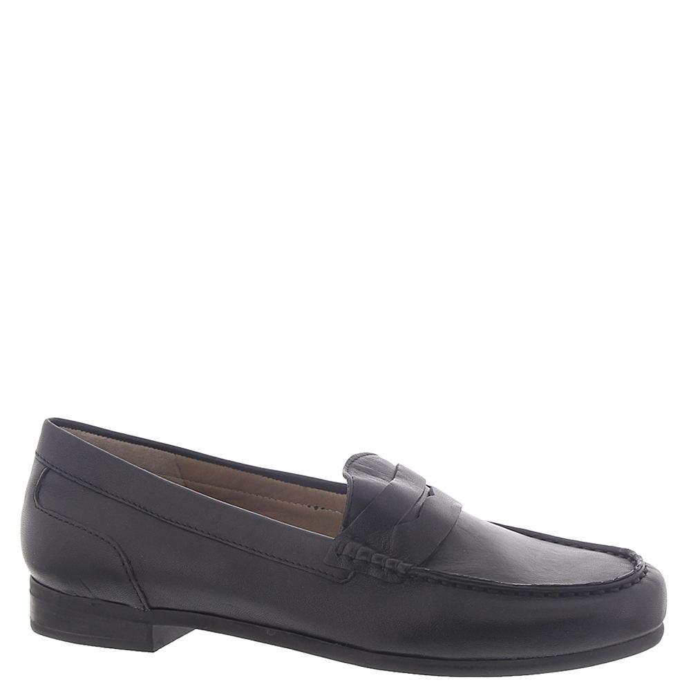 1940s Women's Footwear ARRAY Harper Loafer Womens Black Slip On 7 M $79.95 AT vintagedancer.com