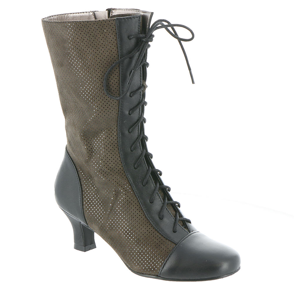 Edwardian Shoes – Styles for Women ARRAY Olivia Womens Tan Boot 8.5 W $49.99 AT vintagedancer.com