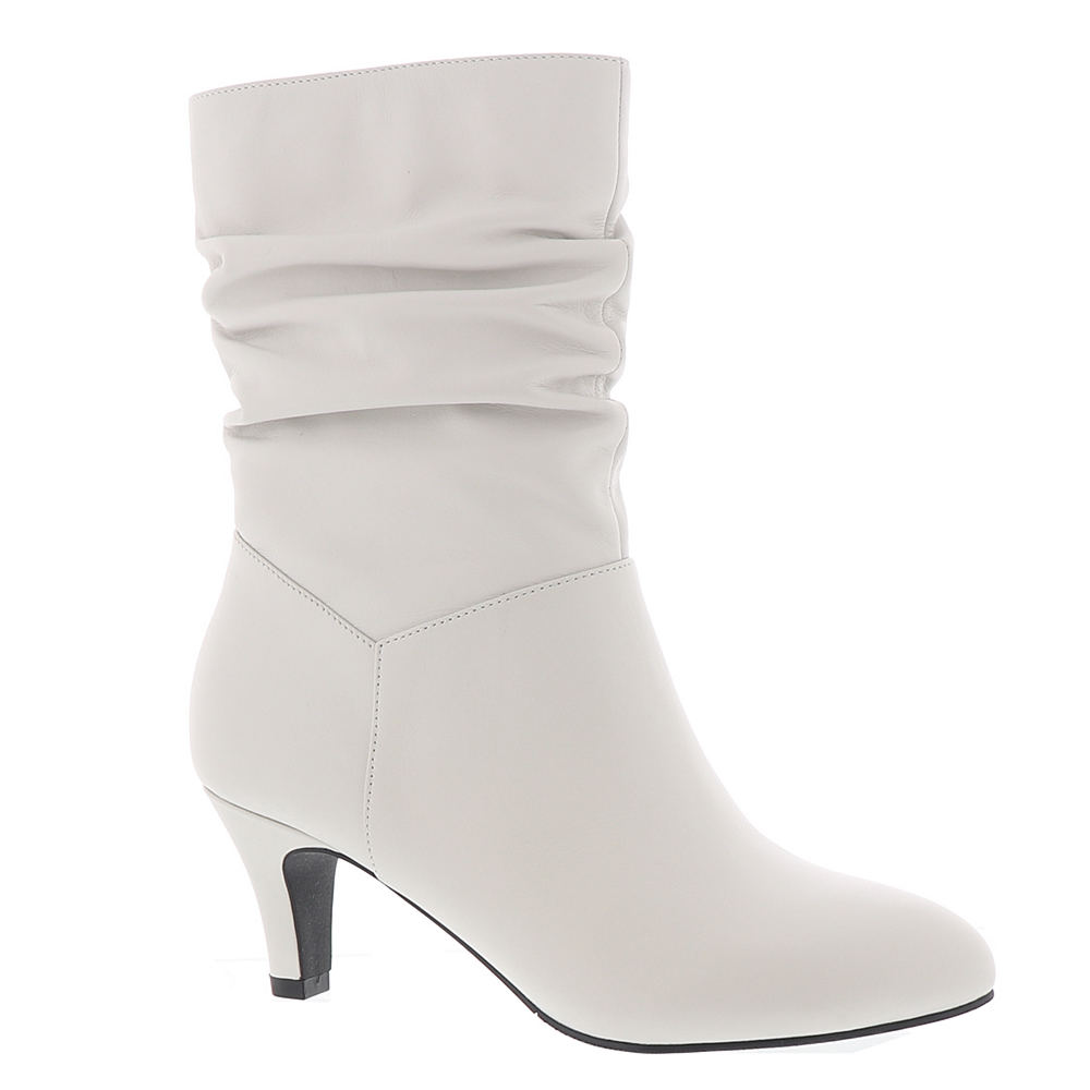 Vintage Boots, Retro Boots ARRAY Kimberly Womens White Boot 7.5 M $131.95 AT vintagedancer.com