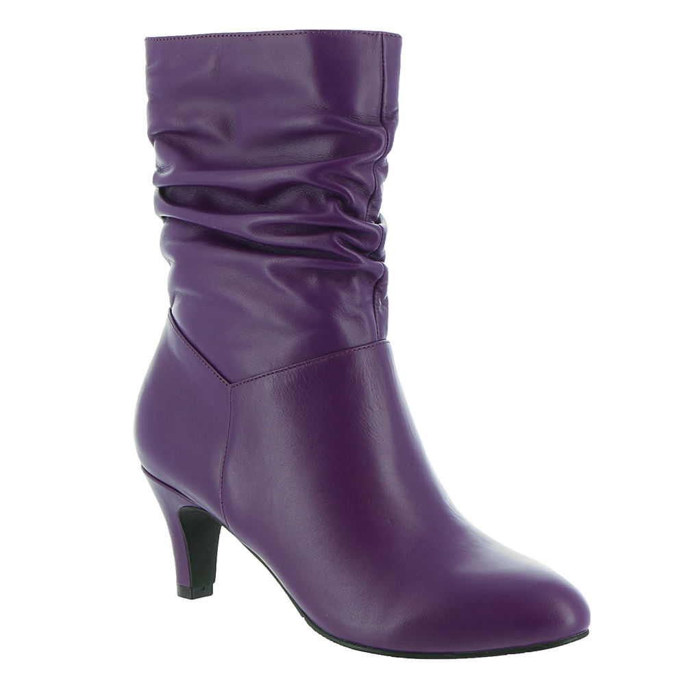 80s Shoes, Sneakers, Jelly flats  1980s Shoes ARRAY Kimberly Womens Purple Boot 12 M $131.95 AT vintagedancer.com