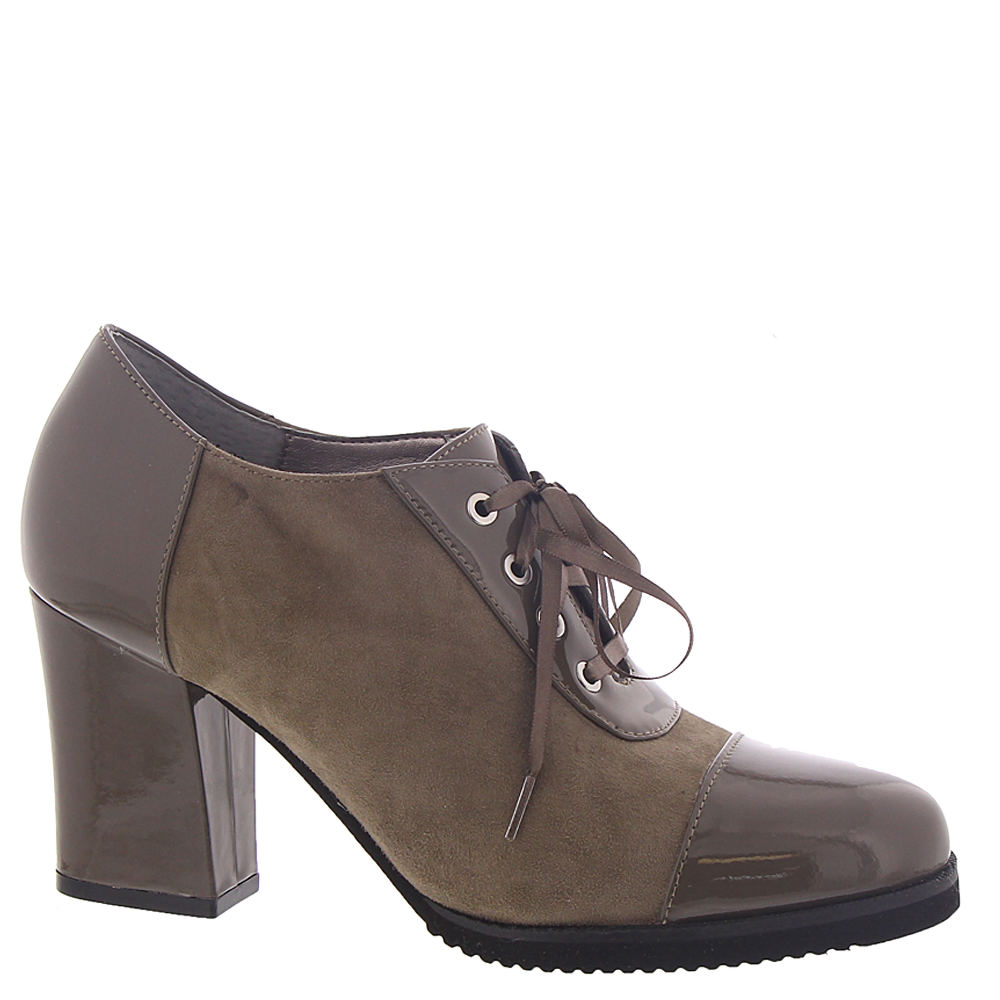 70s Shoes, Platforms, Boots, Heels | 1970s Shoes ARRAY Jade Womens Grey Oxford 8.5 W $19.99 AT vintagedancer.com