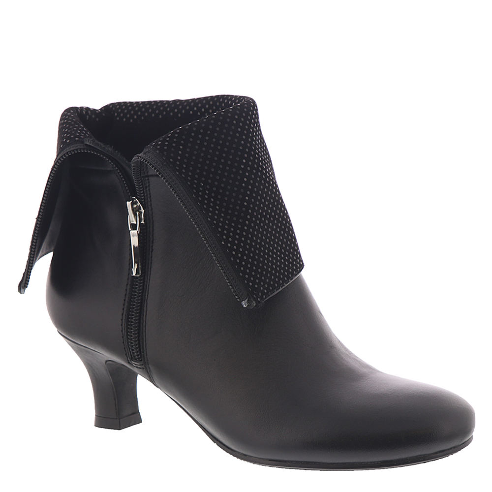 Vintage Boots, Retro Boots ARRAY Carley Womens Black Boot 11 W $126.95 AT vintagedancer.com