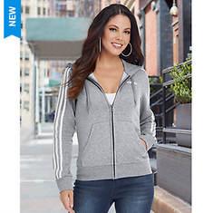 adidas Women's Essentials 3S Full-Zip Hoodie