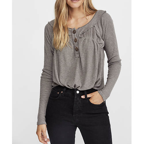 Free People Women's Must Have Henley